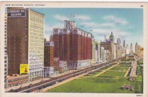 Illinois Chicago New Michigan Avenue