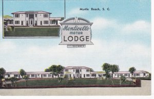 South Carolina Myrtle Beach Monticello Motor Lodge sk7250
