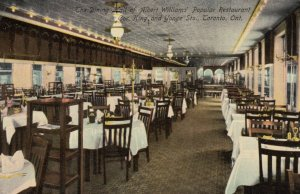 TORONTO, Ontario, Canada, 00-10s; Dining Hall, ALBERT WILLIAMS Restaurant