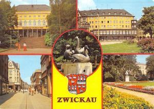 Zwickau Pionerhaus Wilhelm Pieck, Ringcafe Schwanenbrunnen Denkmal