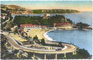 Hand-Colored?? Real Photo of Monte-Carlo-Beach et le Cap Martin Monaco