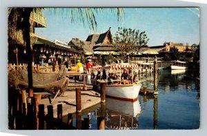Anaheim CA, Disneyland Jungle Adventure California Chrome c1960 Postcard