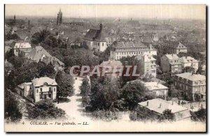 Old Postcard Colmar General view