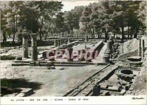 Postcard Modern Olympia Temple of Hera
