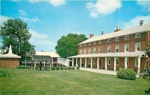 Westminster Maryland~Carroll County Farm Museum~Main House~1960s Postcard
