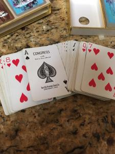 Congress Playing Cards, Double Deck Ships sailboats