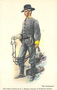 Confederate Soldier Civil War Unused