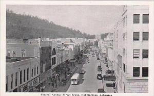 Arkansas Hot Springs Central Avenue Street Scene
