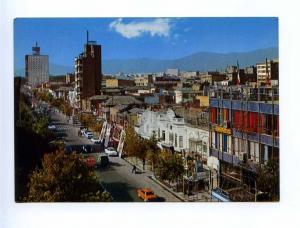 193021 IRAN TEHRAN Shah-Abad street old photo postcard