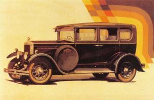 Nostalgia Postcard 1929 Morris Six Advertisement Reproduction Card NS19