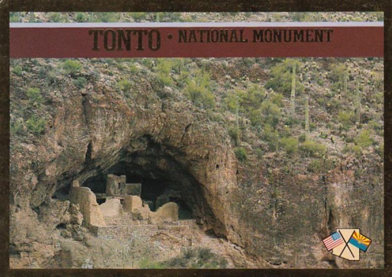 Arizona Tonto National Monument Tonto Cliff Ruins