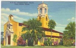 Congregational Church, Coral Gables, Florida, 1930-1940s