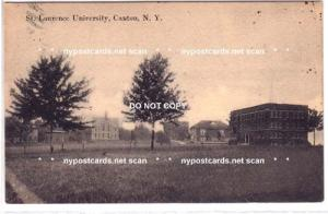 St. Lawrence University, Canton NY
