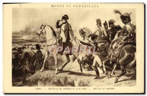 Old Postcard Limours Musee De Versailles Napoleon 1st Battle of Wagram July 8...