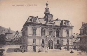 France Chambery L'Hotel de Ville