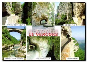 Modern Postcard Images of France Vercors Gorges bourne Great Narrow Combe Lav...