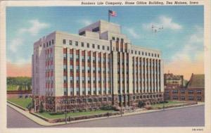 Iowa Des Moines Bankers Life Company Home Office Building 1946 Curteich