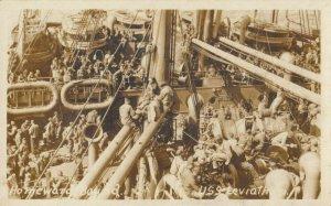 RP: U.S.S. LEVIATHON , 1910s , Homeward Bound