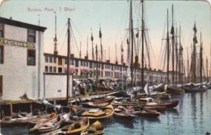 Massachusetts Boston The T Wharf