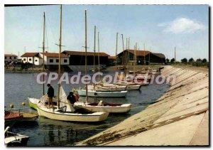 Postcard Modern Ile De Re Le Port D'Ars