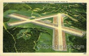 The New Scranton Wilkes-Barre Airport, Avoca, PA, Pennsylvania, USA Turnpike,...