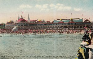 SANTA CRUZ , California, 1900-10s ; Casino