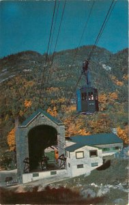 Postcard Cannon Mountain Aerial Tramway, Franconia Notch, NH