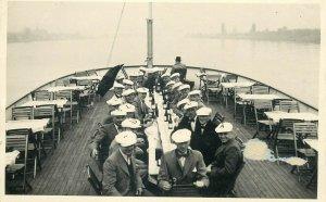 Foto-AK Hamburg ship navigation