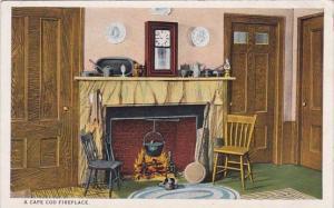 A Cape Cod Fireplace Cape Cod Massachusetts 1924