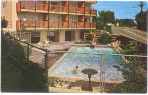 Continental Plaza Motel Seattle Washington WA, 2500 Aurora A