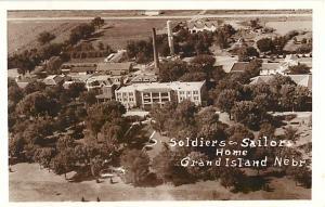 RPPC of the Soldiers ~ Sailors Home Grand Island Nebraska NE