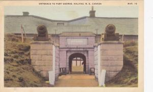 Entrance to Fort George, Halifax, Nova Scotia, Canada, 10-20s