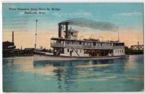 River Steamer Paull, Oshkosh WS