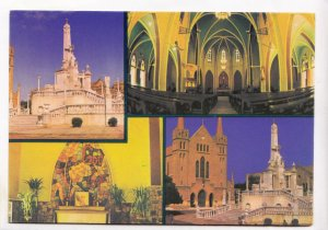 View from St. Patrick's Cathedral, Karachi Centenary year 1978, used Postcard