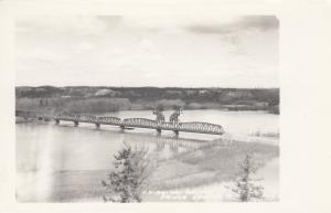 RP, C. N. Railway Bridge, PRINCE GEORGE, British Columbia, Canada, 1920-1940s