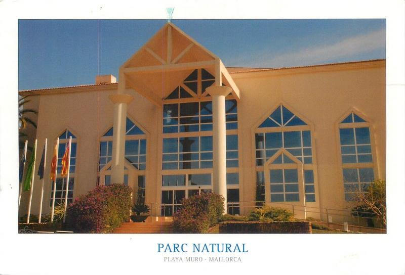 Hotel Parc Natural Playa Muro Mallorca Espana Spain butterfly stamp
