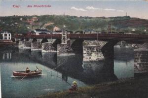 Trier (Rhineland-Palatinate), Germany, 1900-1910s; Alte Romer Brucke