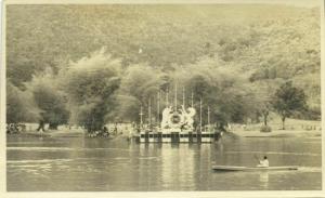 malay malaysia, TAIPING PERAK, Celebrations Queen Elizabeth (1952) RPPC Postcard