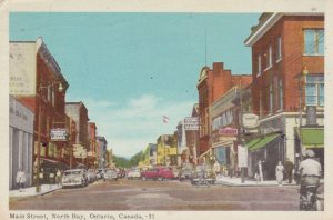 NORTH BAY , Ontario, Canada, 30-40s ; Main Street