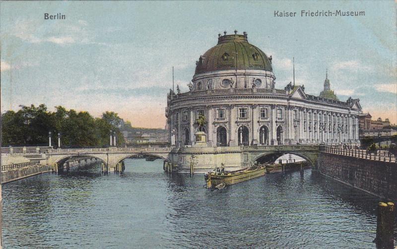 BERLIN, Germany, 1900-1910's; Kaiser Friedrich Museum