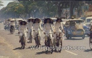 High School Girls Cycling Vietnam, Viet Nam Unused