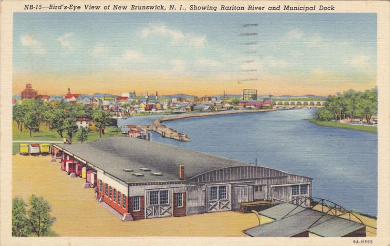 Municipal Dock , NEW BRUNSWICK , New Jersey, 30-40s