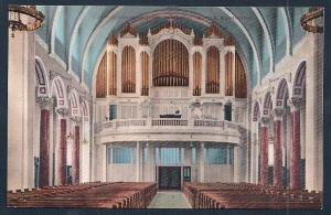 St James Cathedral Interior & Organ Seattle WA unused c1910