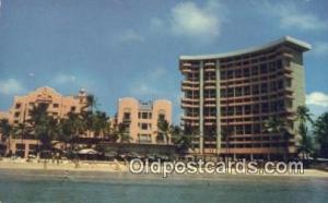 Royal Hawaiian Hotel, Waikiki, Hawaii, HI USA Hotel Postcard Motel Post Card ...