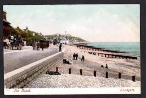 Beach SANDGATE GREAT BRITAIN KENT ENGLAND Postcard PC