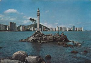 Monument of the Foundation of the City, SAO VICENTE, Brazil, PU-1966