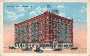 LP20 Cleveland Ohio Hotel Euclid    Postcard
