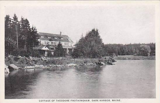 Maine Dark Harbor Cottage Of Theodore Frothingham