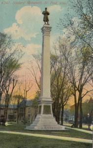ST PAUL , Minnesota, PU-1911; Soldiers' Monument