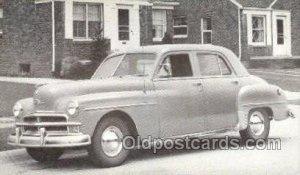 1950 Plymouth Special Deluxe 4 Door Sedan Automotive, Auto, Car Unused